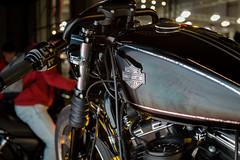 Harley Davidson (t_aris) Tags: sony sonyalpha a5000 sigma moto motorcycle custom harley davidson athens greece mirrorless emount indoor 30mm sigmalens