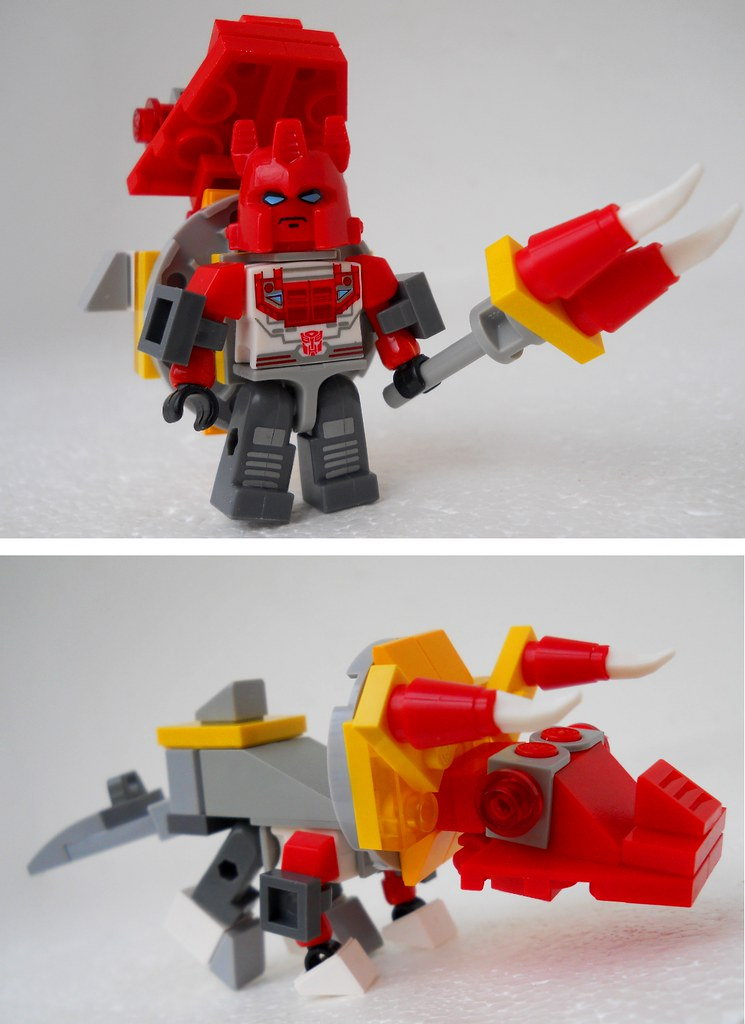 Lego Transformers Toys : The world s best photos of lego and triceratops flickr