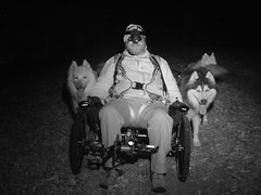 WooFDriver In Nightvision Goggles & Ready To MUSH The WooFPAK