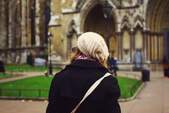 Melissa at Westminster Abbey, London, England. (louise barbara) Tags: uk travel winter england london westminster westminsterabbey unitedkingdom wanderlust 28mmf18 canoneos500d louisebarbara