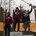 Keurig Cup Spring Series, Whistler - Men's GS day 2 - 1st Ben Thomsen; 2nd Martin Grasic; 3rd Erik Read