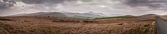 North Lakes, Lake District, UK (Oli Tee) Tags: road panorama mountains grass misty clouds landscape heather crossprocess dramatic wideangle hills layers washed moor bleached braken