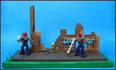 Jger Toads (Karf Oohlu) Tags: lego vignette matchbox moc microfig matchbox176