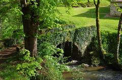 Moulin de Seillant - Pont sur L'Anglin