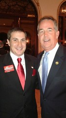 Congressional candidate Joe Kaufman with Florida CFO Jeff Atwater