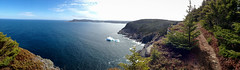 Iceberg (AndrewHiscock) Tags: panorama apple newfoundland landscape hiking stjohns iceberg ios iphone torbay eastcoasttrail iphone5
