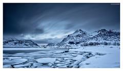 Chilled (Stuart Leche) Tags: longexposure winter snow mountains ice norway clouds landscape scenic floating le fjord lofotenislands canon5dmkiii canon1635f28iilusm