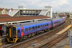 158798, Fratton, April 22nd 2014 (Southsea_Matt) Tags: firstgreatwestern fratton class158 158798