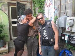 Jane, Austin, Logan at Savage Weekend 2014 (NO-CORE) Tags: music weird nightlight noise fest chapelhill savageweekend