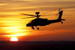 ZJXXX_Apache_Sunset_SPTA_Img01 (Tony Osborne - Rotorfocus) Tags: sunset training army apache air corps area salisbury british boeing plain longbow 2011 ah64 spta agustawestland wah64