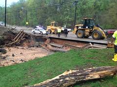 Storm Damage (StateMaryland) Tags: storm flooding damage sha marylandstatehighwayadministration mdsha