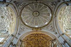 Dome of the Capilla Mayor inside the Mezquita - Cathedral of Crdoba Spain (mbell1975) Tags: old our espaa church abbey lady de town grande spain europe catholic cathedral mayor roman dom great kathedrale iglesia kirche mosque ceiling historic chiesa espana spanish igreja dome moorish di cordoba mezquita inside andalusia altstadt crdoba kerk eglise cordova assumption espaol moschea kirke capilla moschee cordoue mosquecathdrale mosquecathedral mezquitacatedral  qurubah