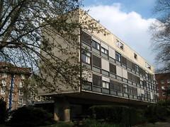 Swiss Pavillon by Le Corbusier #1 - Cit Internationale in Paris 14th (Sokleine) Tags: paris france architecture 1931 modernism lecorbusier 75014 jeanneret monumenthistorique citinternationale