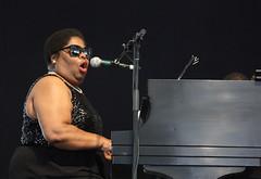 New Orleans Gospel Performers @ Jazzfest (2014) 09 - Cynthia Girtley