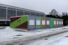 TO (duesentrieb) Tags: schnee snow architecture germany deutschland cityscape container architektur wolfsburg niedersachsen lowersaxony stadtlandschaft tumblr