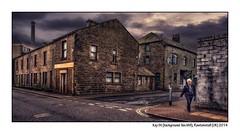 Kay St (background: Ilex Mill), Rawtenstall (UK) 2014 (Professeur Filature) Tags: street mill corn annie millers manserghs