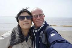 selfies with The North Sea (serni) Tags: sea nederland thenetherlands noordzee zee northsea jos serni