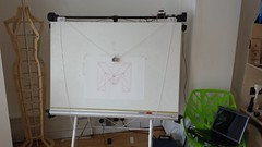 MAKLab M on Polargraph (nand_) Tags: pen drawing board graph sharpie polar plotter arduino drawingboard polargraph maklab polarplotter