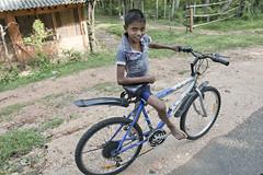 SL039 Boy cyclist - Anuradhapura  14 - Sri Lanka (VesperTokyo) Tags: road boy portrait bike bicycle cyclist unescoworldheritagesite barefoot srilanka ceylon rider 自転車 anuradhapura 世界遺産 少年 スリランカ 裸足 bicyclemotocross セイロン