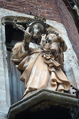 Madonna and Child (Ursula the Sea Witch) Tags: belgium belgique madonna belgi statues ghent gent gand