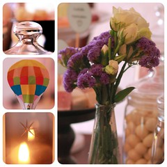 collage of sweets_2 (Cleronomas) Tags: flower macro collage candle sweets