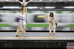 underground Tokyo (marin.tomic) Tags: city travel urban motion japan train underground subway asian japanese tokyo movement nikon asia asien exposure metro transport nippon tokio d90
