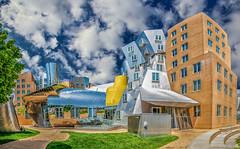 MIT Stata Center (AliAlaz) Tags: cambridge panorama usa building brick boston architecture mit massachusetts newengland architect frankgehry statacenter kendallsquare massachusettsinstituteoftechnology tonem
