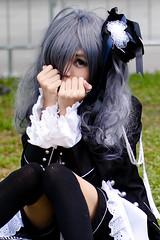 Cosplayer @ Asia Cosplay Meet 2014 (Rickloh) Tags: anime asian costume model singapore comic cosplay bokeh manga culture makeup rick samsung characters oriental sg acm   nx       nx30 samsungnx beyondbokeh asiacosplaymeet rickloh samsungnx45mmf18 nxsg asiacosplaymeet2014