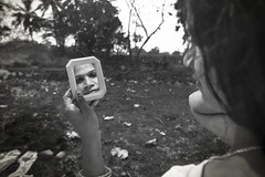 The Mirror (Gowri Shankar Panneer Selvam) Tags: reflection transgender widow cwc koovagam thirunangai chennaiweekendclickers aaravan