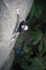 Pocket Rocket (gomezthecosmonaut) Tags: newzealand climbing jp rockclimbing whanganuibay a99 twilightofthegods routeclimbing sigma35mmf14dghsm