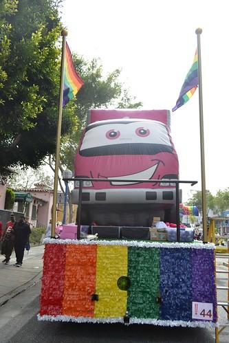 AHF at LA Pride 2014