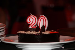 20th Birthday (anatennis) Tags: birthday cruise family carnival light red brown white love cake night dinner video funny candles ship dress sister chocolate champagne formal plate charm canadian staff prom bracelet april 20 breeze 27 pandora polite memorable 2014 serbian 042714