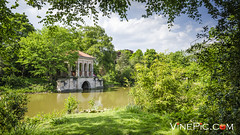 Birkenhead park ((RayH) From Vinepic) Tags: park uk blue england sky green water landscape nikon birkenhead wirral d7000