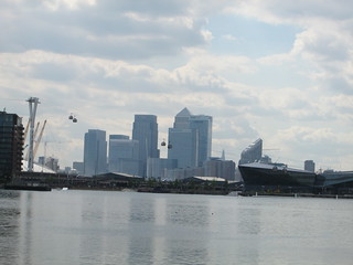 Canary Wharf from Excel Centre