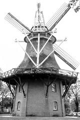 Windmill Bad Zwischenahn (1eyephotography) Tags: blackandwhite white black windmill germany photography nikon photos north niftyfifty badzwischenahn frisland 1eyephotography