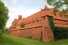 Malbork Castle (gráce) Tags: castle architecture bricks poland unesco knights fortress prussia malbork marienburg teutonicorder
