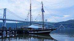 Schooner Mystic Whaler (thetrick113) Tags: sailboat boat sail hudsonriver tallship schooner hdr hudsonvalley woodboat mysticwhaler midhudsonbridge hudsonriversailboat poughkeepsienewyork dutchesscountynewyork sonyslta65v httpwwwmysticwhalercruisescom schoonermysticwhaler