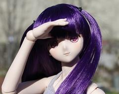Yuzu (Katiazza) Tags: pink nova spring doll purple dream bjd nia dd yaya dollfie volks 13 yuzu balljointeddoll gurrenlagann teppelin unbreakablemachinegirl