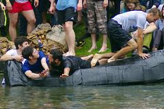 taking a Dive (MalB) Tags: cambridge boats pentax cam cardboard k5 suicidesunday
