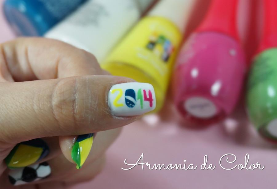 Nail art mundial brasil3