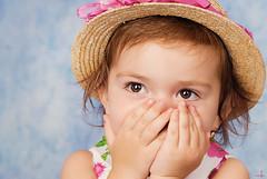 Oh, My! I forgot my Lipstick! (MissSmile) Tags: portrait cute girl fashion studio kid toddler pretty child adorable hay misssmile