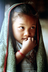 21-253 (ndpa / s. lundeen, archivist) Tags: nepal portrait people color film girl face rural 35mm eyes village child 21 nick nepalese 1970s 1972 himalayas villager nepali dewolf mountainvillage ruralvillage nickdewolf photographbynickdewolf ruralnepal reel21 hillyregion
