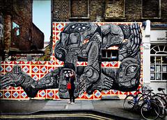 HANBURY STREET (mickyh2011) Tags: street brick london art candid east lane hanbury