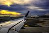 Window View on the Runway (Aron Cooperman) Tags: nyc newyorkcity sunset sky usa ny newyork clouds airplane airport nikon cityscape manhattan airplanes jfk jetblue takeoff runway airplanewindow jfkairport d800 airplanewing airplaneview newyorksunset cityphoto airplanewindowseat nikond800 cloudsstormssunsetssunrises aroncooperman openlightphoto june2014 airplanestaxi