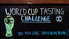 World Cup non sequitur (dr_loplop) Tags: world art cup sign football fifa soccer bad weltmeisterschaft tournament trophy tasting worldcup chalkboard blackboard challenge sauvignonblanc coupedumonde جام جهانی cwpanybyd ฟุตบอลโลก גביע העולם العالم doyoulike copadomundo 世界杯 dünyakupası w杯 wereldkampioenschapvoetbal كأس ilmondiale copadelmón sauignon παγκόσμιοκύπελλο कप विश्व pialadunia кубокмира svetovnipokal világkupa heimsmeistarakeppnin pasauliočempionatas светскопрвенство tazzataddinja cupamondială svetovýpohár världscupen кубоксвіту cúpbóngđáthếgiới wêreldbeker световнопървенство světovýpohár verdenmesterskab maailmancup weireldkampioenschapsjotten lacopamundial cornandomhain кубаксвету campionatodomundo 세계축구