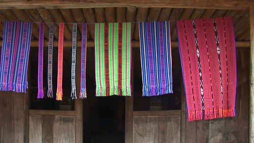 Indonesia - Flores - Traditional Village Bena - Weaving - 43