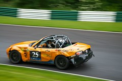 These Bruises (4oClock) Tags: park orange black car sport june japanese nikon panel halls racing lincolnshire 25 damage motor nikkor dslr mazda motorsport commitment autosport bruises 18105 cadwell 2014 bashes bends d90 brscc