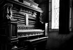 Montsalvat [Explored] (phunnyfotos) Tags: light bw music church window mono nikon curtain australia melbourne chapel monotone victoria organ vic leadlight connoisseur eltham montsalvat melburnian d5100 nikond5100 phunnyfotos