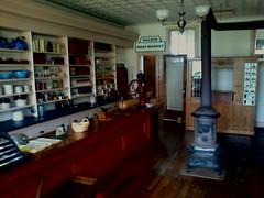 Pinecrest village's GeneralStore (wards work) Tags: scale wagon store village general antique postoffice shops historical restrooms wi radioflyer woodstove pinecrest gaslight manitowoc 4wwc