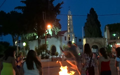 (Psinthos.Net) Tags: summer june pinetree square fire jumping gate afternoon burning belfry wreath childrens tradition custom wreaths childs sq cypresstrees nightfall        psinthos     klidonas aiyiannis  aigiannis               psinthosbelfry kledonas courtyardchurch   aigianniou aiyianniou     wreathsburning